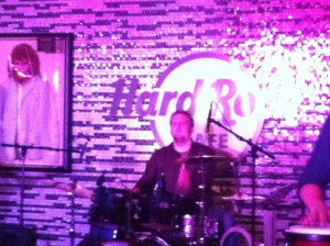 Tobias Bertram mit Crimson Sunday im Hard Rock Café Berlin