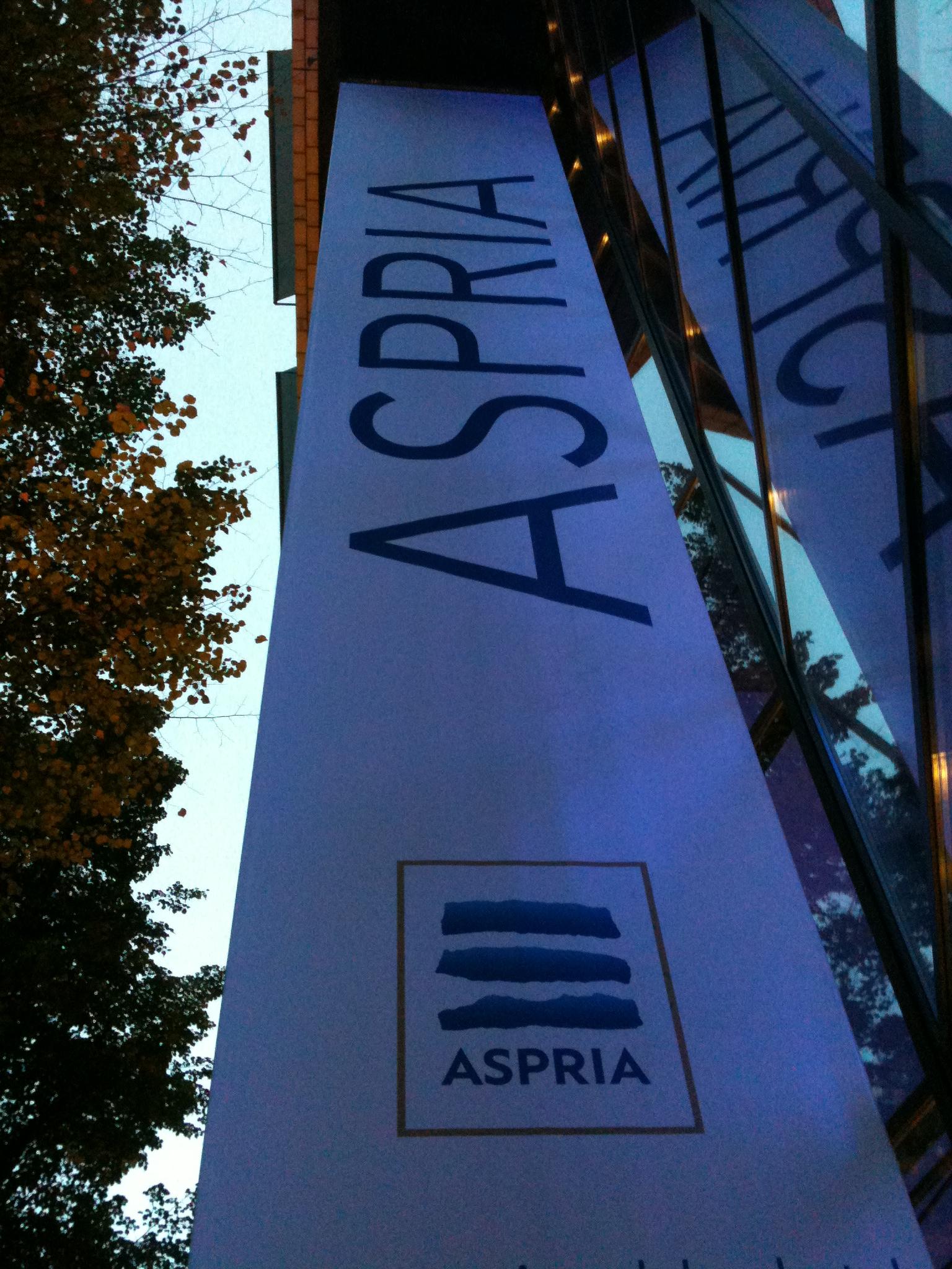 Das Aspria in der Karlsruher Straße
