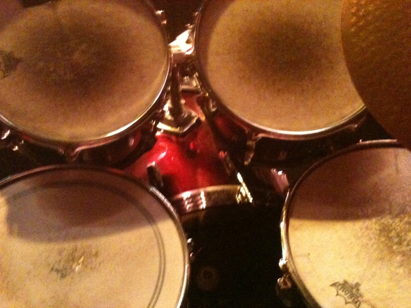 Drumset in der Ricke.