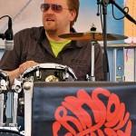 Tobias am Schlagzeug