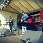 Eurasia-Bühne mit Crimson Sunday